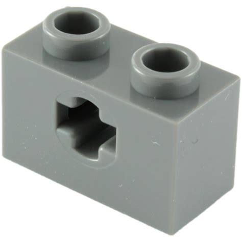 brick pattern exles lego dark stone gray technic brick 1 x 2 with axle hole