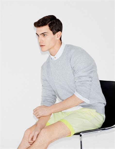zara model hairstyles justin passmore vincent lacrocq model spring styles for zara