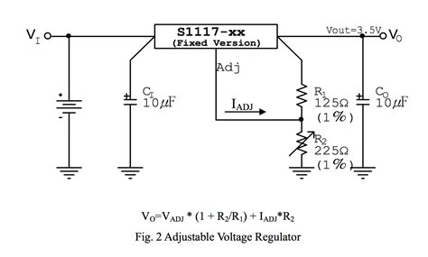 Ic Regulator 18v Smd S1117 how to calculate voltage and current electrical engineering stack exchange