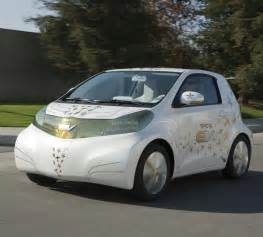 Electric Car By Toyota Toyota Electric Car 2012 Release Iq Ft Ev In