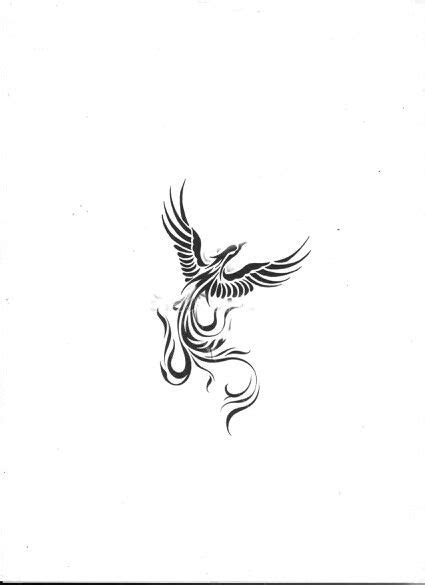 black and white phoenix tattoo designs best 25 small tattoos ideas on a