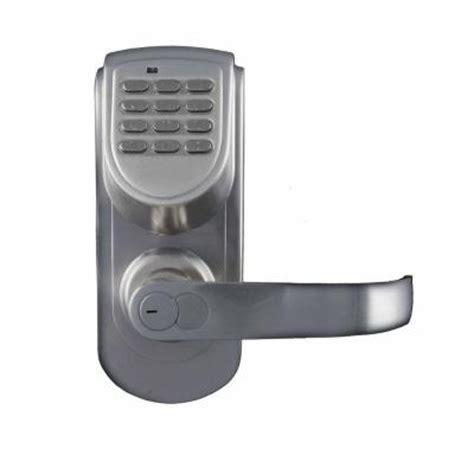 Home Depot Exterior Door Locks Lockstate 200 Code Keyless Digital Single Cylinder Silver Schlage Electronic Deadbolts