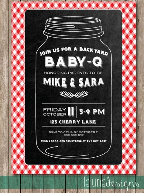 free baby q invitations templates baby q shower invite barbecue invite barbecue baby