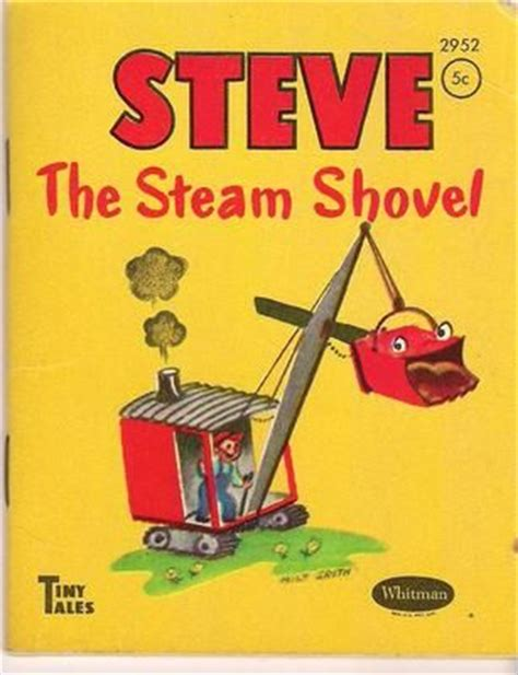 my shovel books vintage 1950 steve the steam shovel whitman tiny tales
