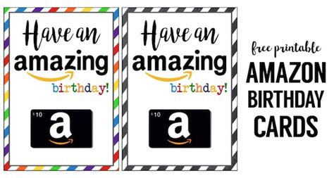how do amazon printable gift cards work amazon birthday cards free printable paper trail design