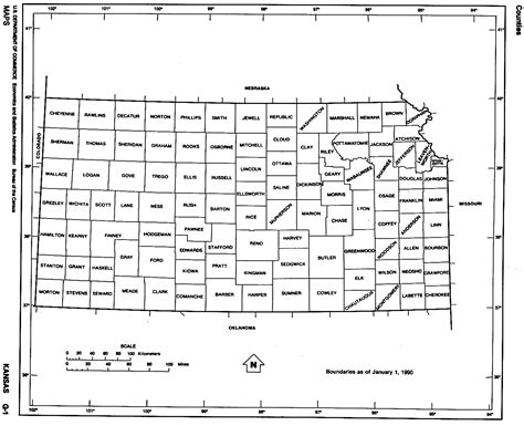 kansas county map kansas maps perry casta 241 eda map collection ut library