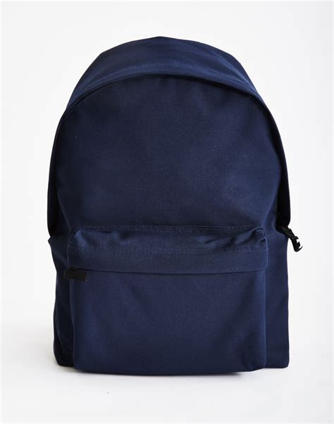 Blue Backpack the idle backpack navy in blue for lyst