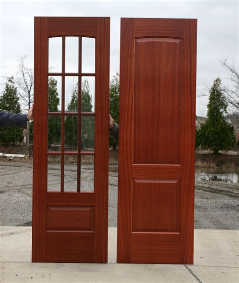 Wooden Exterior Doors With Glass Homeofficedecoration Wooden Exterior Doors With Glass