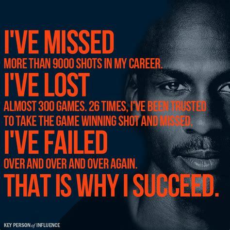michael failure inspirational quotes quotesgram
