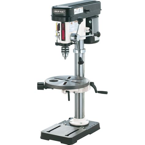 bench drill presses free shipping shop fox oscillating benchtop drill press