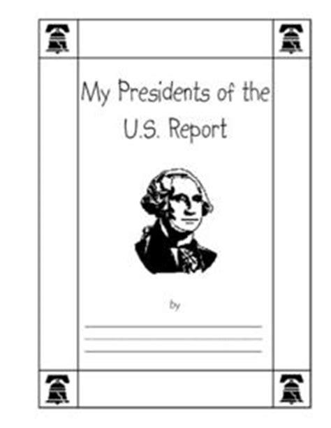 president report 3rd grade printables template lesson