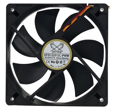 Fan Casing Armaggeddon 120mm 090117 pwm 120mm fan black