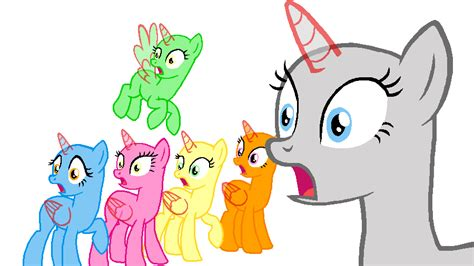 my little pony mane 6 base mane 6 say what 20 by beanbases on deviantart