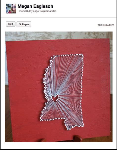 State String Diy - diy project aholic home state nail craft ideas