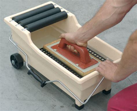 attrezzi per piastrellista piastrellista vaschetta lavaggio pulirapid