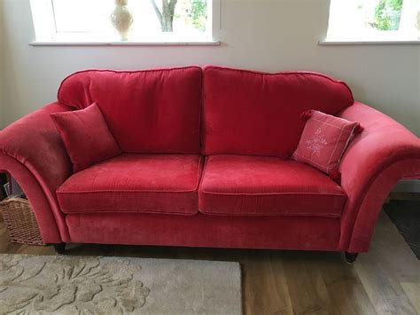 ebay uk sofas laura ashley mortimer sofa red ebay