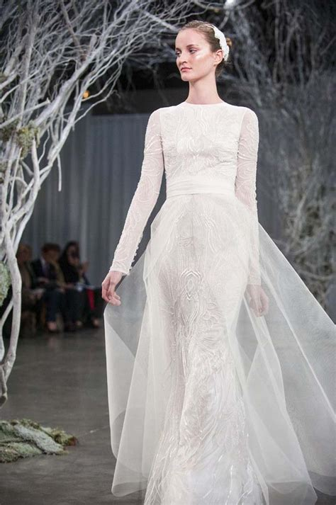 lhuillier wedding dress the loveliest sleeved wedding dresses