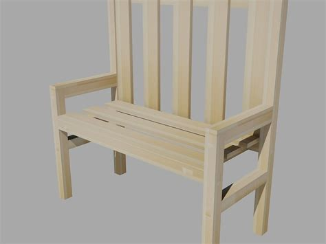 bench 3d model wooden bench free 3d model dwg cgtrader com