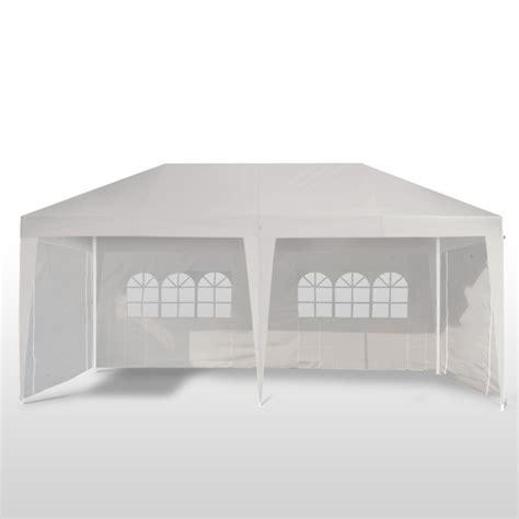 garten pavillon 6x3m gartenpavillon partyzelt 6x3m weiss gratis liefer