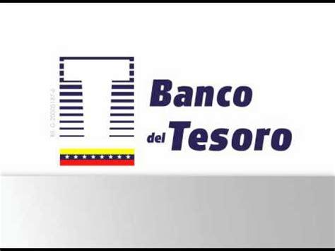 sicad banco del tesoro banco del tesoro presenta youtube
