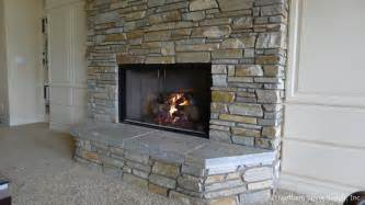 veneer fireplace stone honey ledge