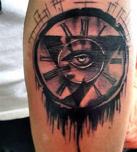old clock tattoo 80 clock designs for timeless ink ideas