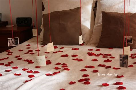 surprise him in bed valentine s day surprise for him with jaime crafty meggy