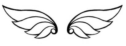 Simple Wing Outline by Wing 6 By Zim402 On Deviantart