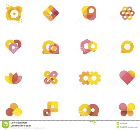 set of vector graphic elements royalty free stock photos vector abstract elements royalty free stock photos image