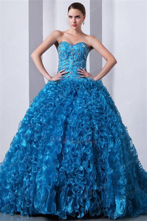 winter themed quinceanera dresses ruffles ball gown blue the quinceanera dress for winter party