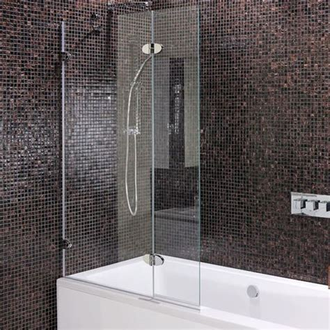 bathroom with bathtub and shower out of the frame 6 inspiring frameless solutions for your