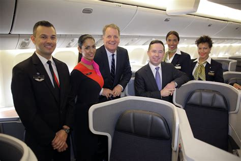 cabin crew in airlines american airlines and qantas announce new services to