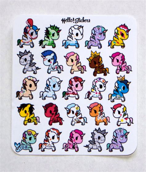 Sticker Small small tokidoko unicorno stickers stickers