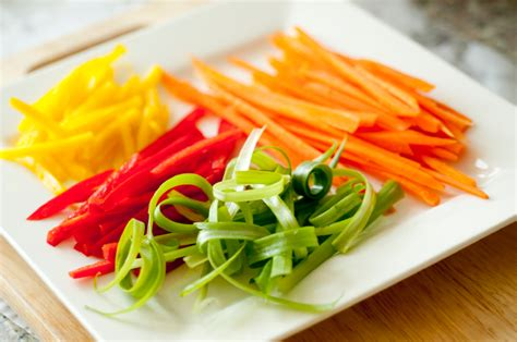 Nstrip Vegethablerovs the professionals vegetable cuts types use wlaitfoodie
