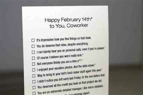 valentines day gifts for coworkers 12 inappropriate valentine s day cards dot complicated