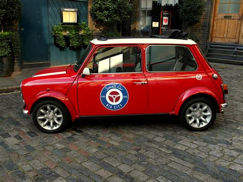 classic red classic mini cooper hire london tv film photoshoots