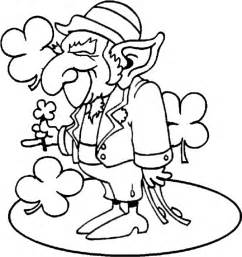 leprechaun coloring page free coloring pages of leprechaun