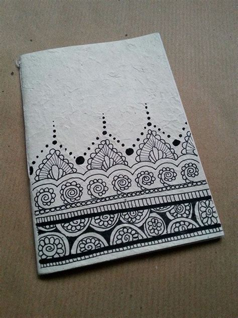 doodle notebooks india notebooks handmade in rice paper the illustrations on the