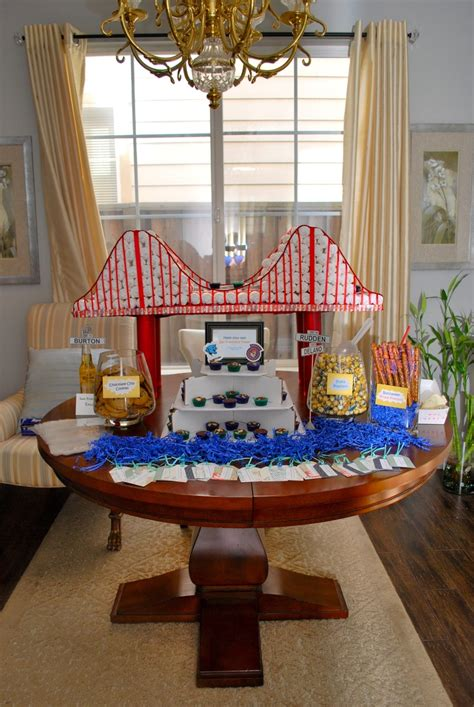 Baby Shower Cakes San Francisco by 9 Best San Francisco Themed Baby Shower Images On