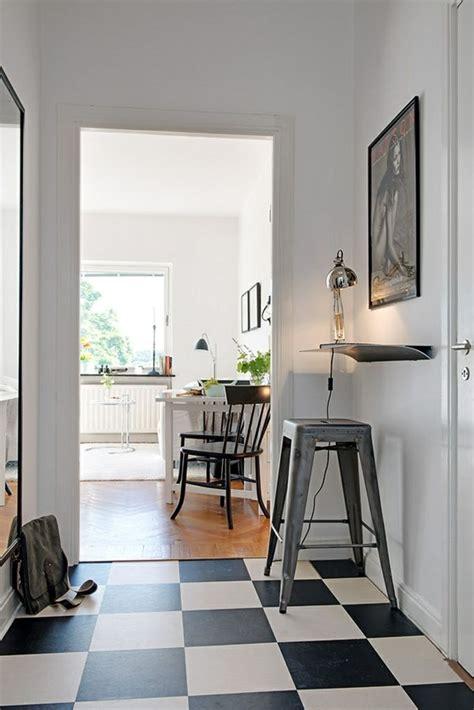 bodenfliesen streichen eingangsbereich charmante einzimmerwohnung in schweden mit vorteilen aus