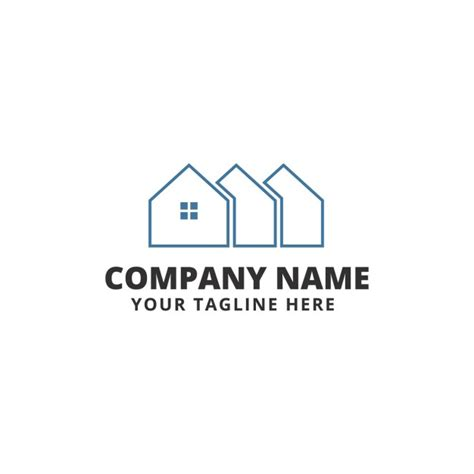 Real Estate Logo Templates by Real Estate Logo Template Vector Free