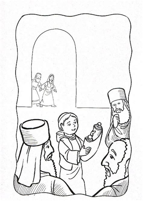 Jesus At The Temple As A Boy Coloring Page Free Pinterest The World S Catalog Of Ideas by Jesus At The Temple As A Boy Coloring Page Free