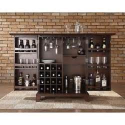 Compact Home Bar Home Bar Compact Cabinet Expandable Counter Wine Storage