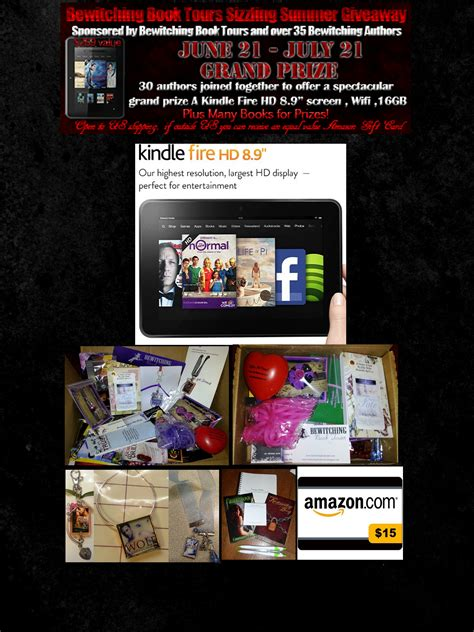 Book Tours by Sizzling Summer Giveaways From Bewitching Book Tours