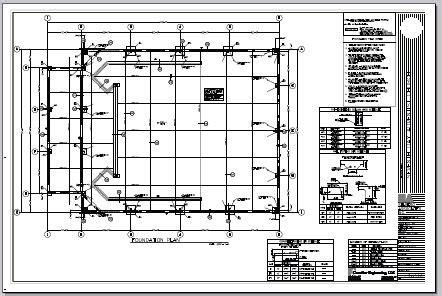 foundation layout exles sle engineering