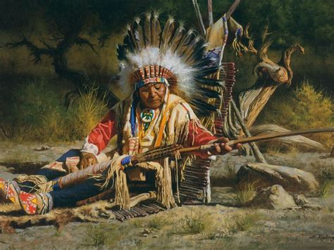 american indian drawing painting american desktop wallpaper nr 30437