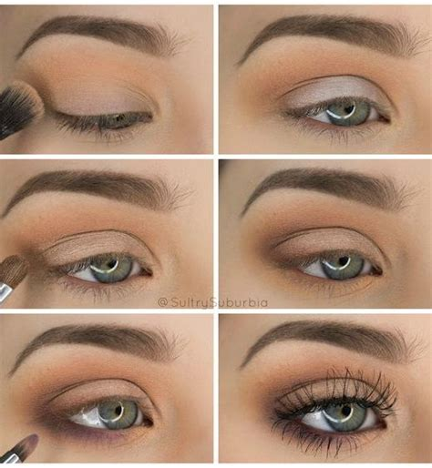 natural eye makeup tutorial step by step 16 easy step by step eyeshadow tutorials for beginners