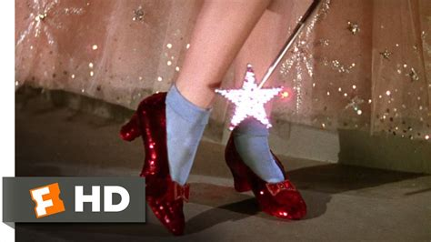 the ruby slippers of oz the ruby slippers the wizard of oz 3 8 clip