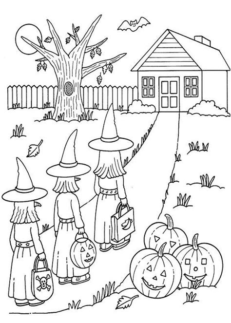 halloween coloring pages pinterest coloriage d halloween 224 imprimer gratuitement