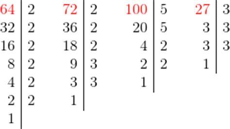 tavole numeriche scomposizione in fattori primi radice quadrata